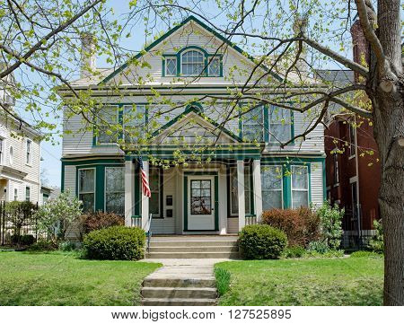 Large Old Urban House in Midwest