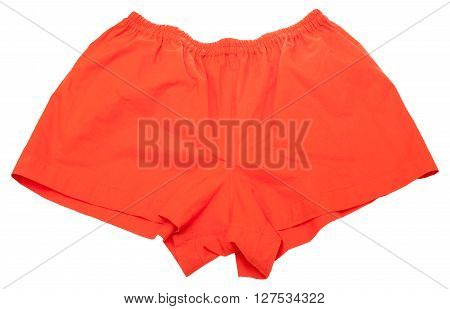 Big Red Calico Shorts For Men