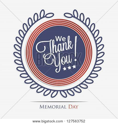 We Thank You
