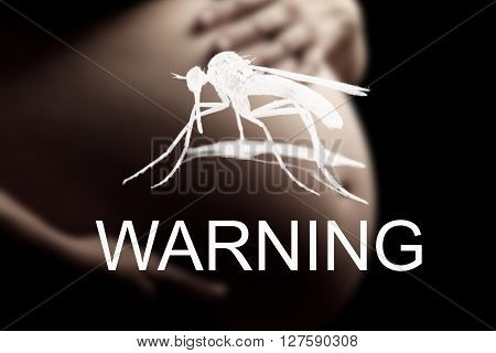 Pregnant woman imminent danger to the virus Zika warning