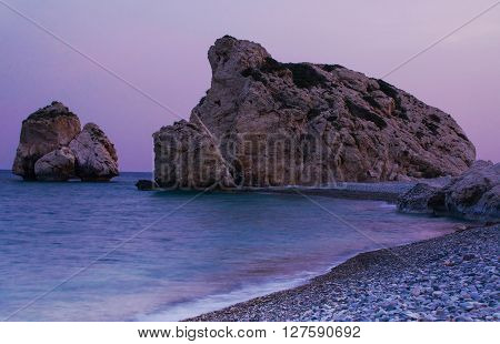 Beautiful Beach, Birthplace Of Aphrodite
