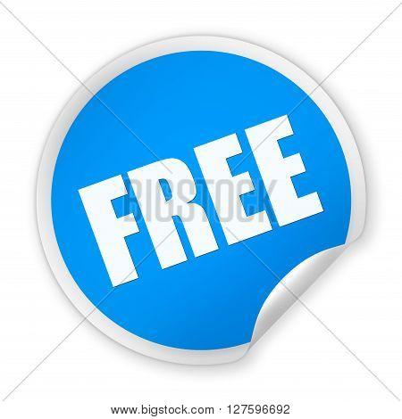 Free Round Sticker