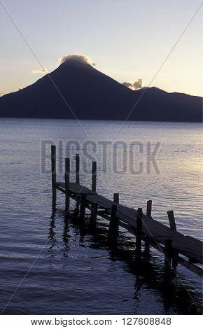 Latin America Guatemala Lake Atitlan
