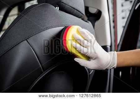 Car detailing series : Cleaning car seat
