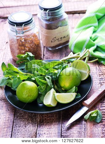 Ingredients For Mojito
