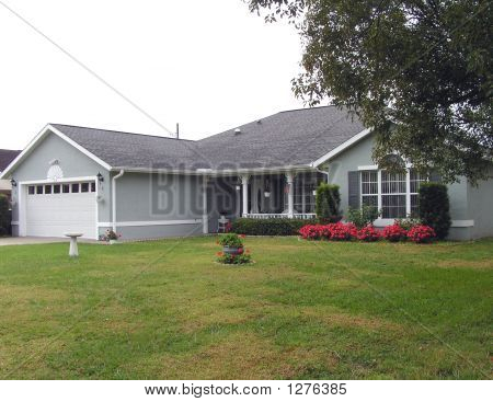 Gray Ranch Home