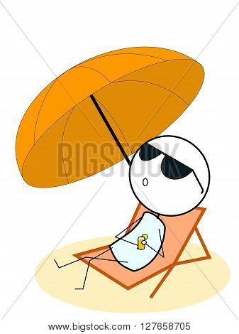 Enjoy summer .eps10 editable vector illustration design