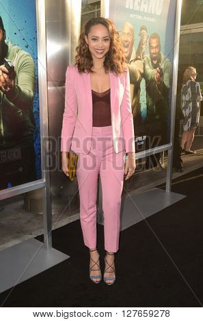LOS ANGELES - APR 21:  Amber Stevens at the Keanu Los Angeles Premiere at the ArcLight Hollywood Theaters on April 21, 2016 in Los Angeles, CA