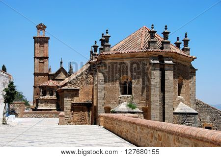 Rear view of Santa Maria church Antequera Malaga Province Andalucia Spain Western Europe.