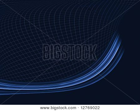 Abstract Grid Lines Background