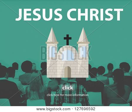 Jesus Christ Faith God Grace Holy Hope Spirit Concept