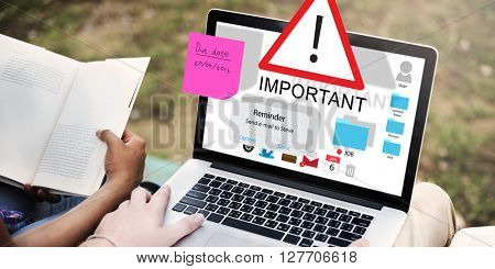 Important Importance Priority Significant Remind Concept