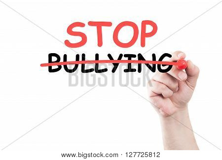Stop Bullying Concept Text