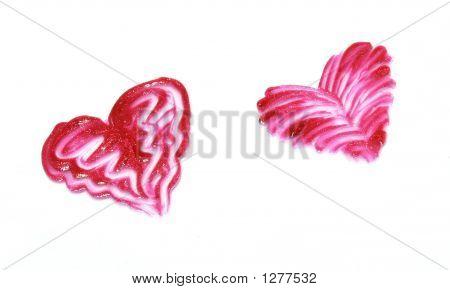 Two Gloss Hearts
