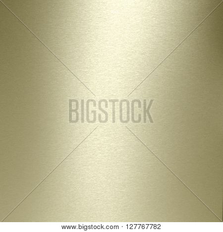Brushed gold  plate textured background.