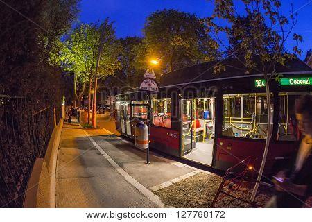 Bus  Ride In Vienna