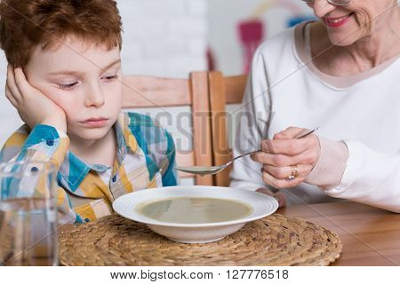 Poor Eater And Grandmother's Dinner