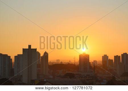 Guarulhos sunrise - Nascer do sol em Guarulhos
