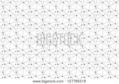 Isometric Seamless Pattern. Geometry Pattern Background. Vector Stock.