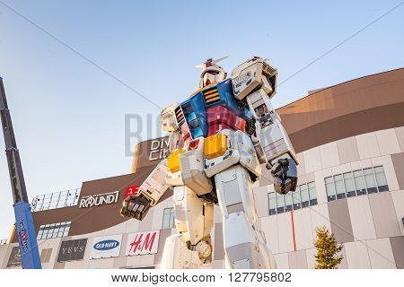 Gundam Rx78-2 In Tokyo, Japan