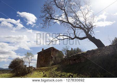 Old rural house. Port de Beseit. Teruel Province