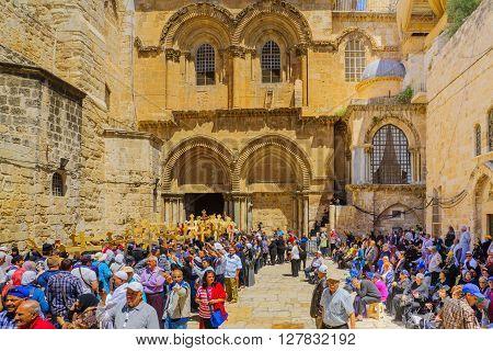 Orthodox Good Friday 2016 In Jerusalem