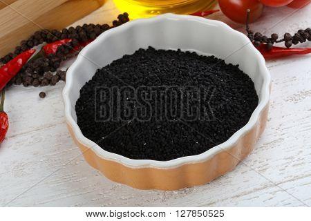 Dry Nigella