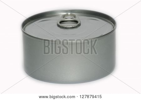 Metal can, container used for the preservation of food products. ** Note: Visible grain at 100%, best at smaller sizes