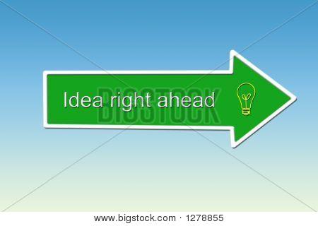 Idea Right Ahead