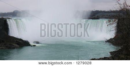 Niagara Falls - Canadian Falls - Panorama