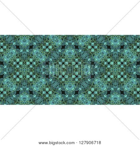 Stationery Background With Decorated Borders