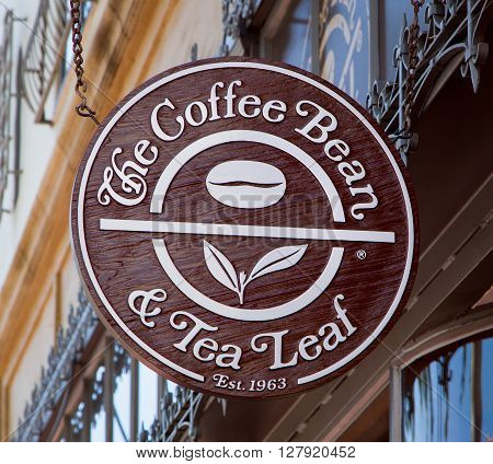 The Coffee Bean Retail Store And Sign