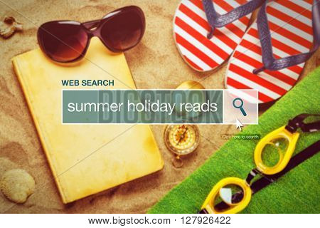 Web search bar glossary term - summer holiday reads definition in internet glossary.