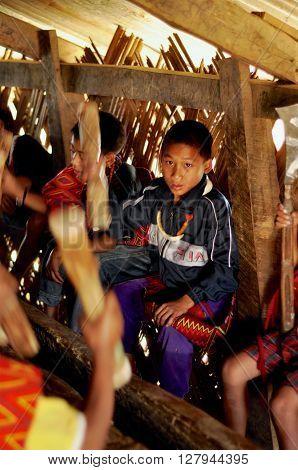 Boys In Nagaland, India