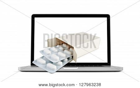 Online Transaction, Online Therapy Theme.