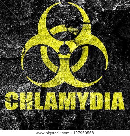 Chlamydia concept background