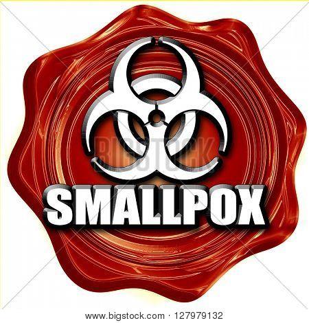 smallpox concept background