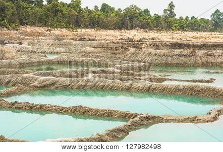 Beautiful Unseen Thailand grand canyon sam pan bok at ubonratchathani