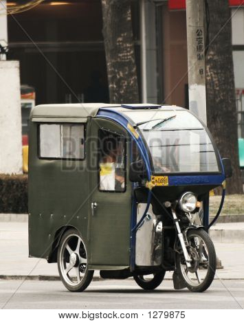 Chinese Motorcycle Taxi