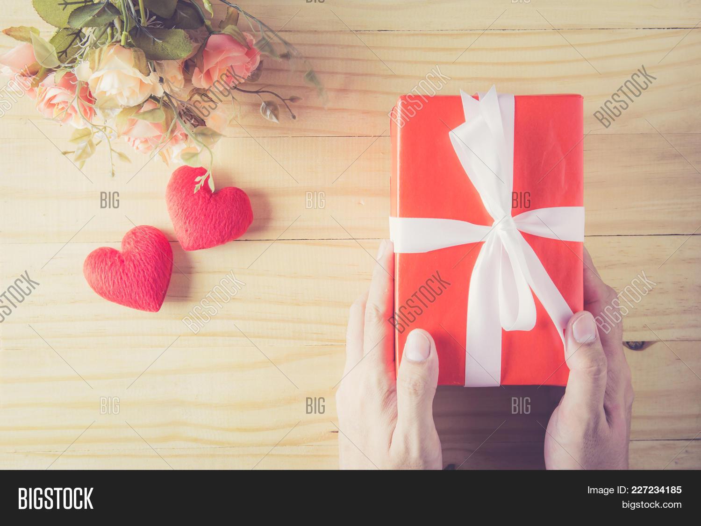 Celebration Gift Box White Powerpoint Template Celebration Gift