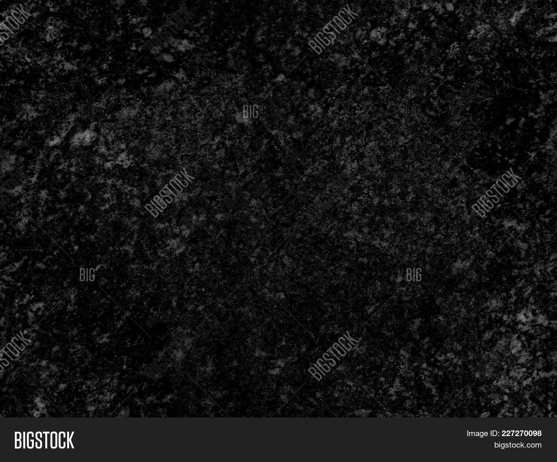 Natural Seamless Granite Stone Texture Pattern Background Black Dark Surface