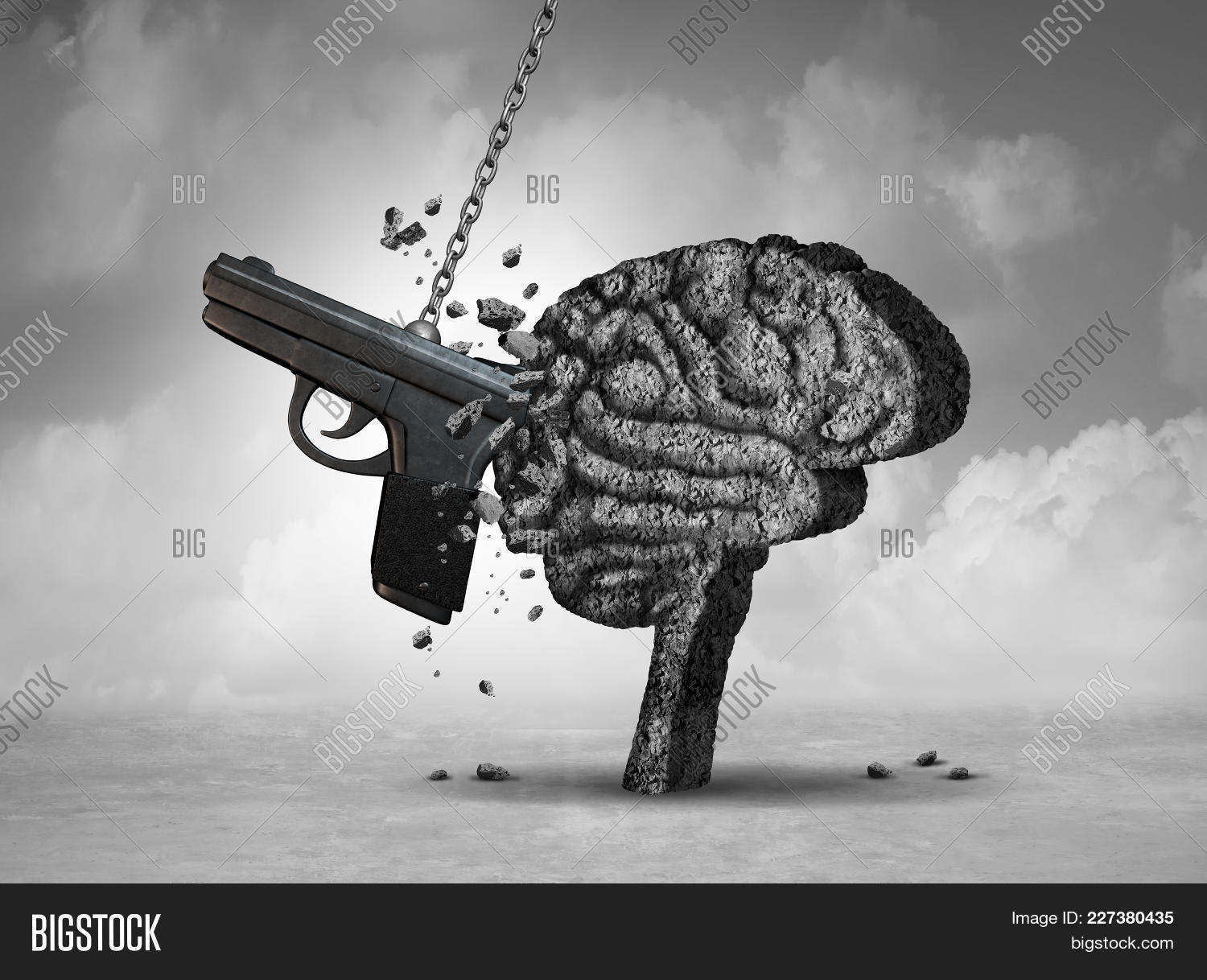 Gun violence and mental powerpoint template gun violence and your text toneelgroepblik Image collections