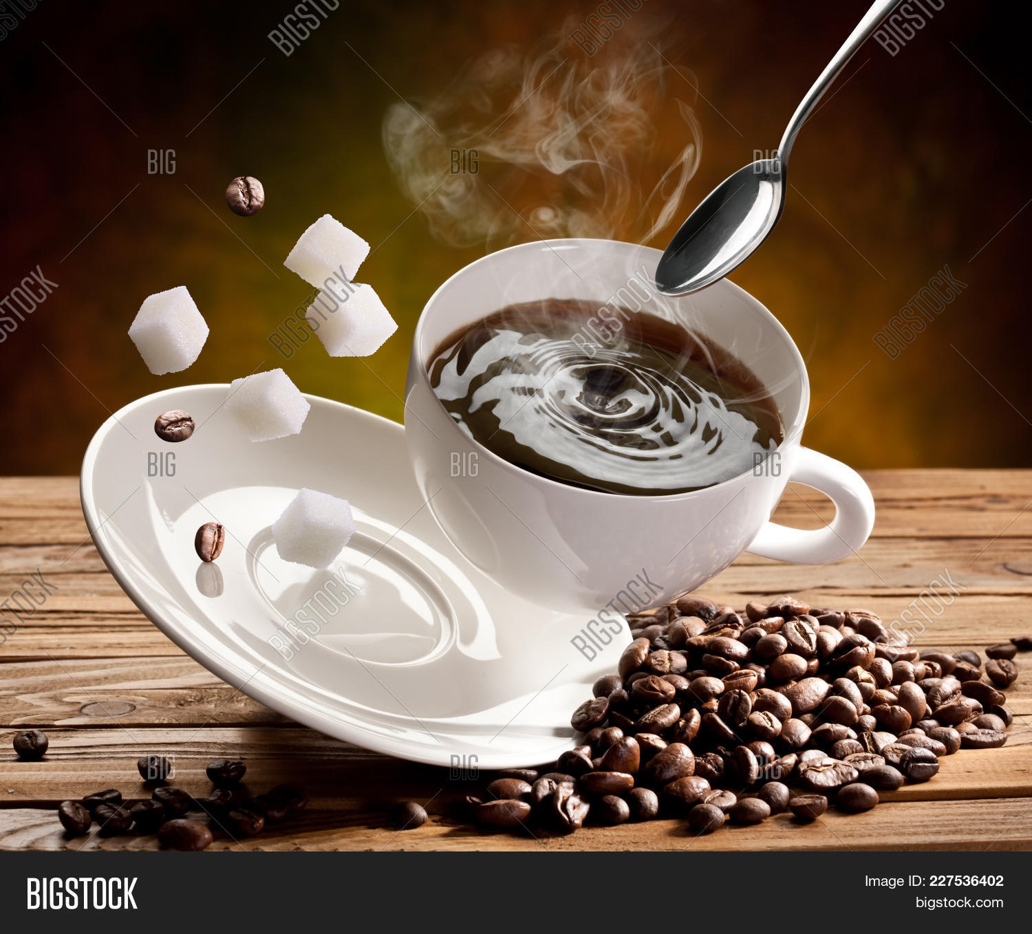roasted coffee beans cup of coffee coffee powerpoint template