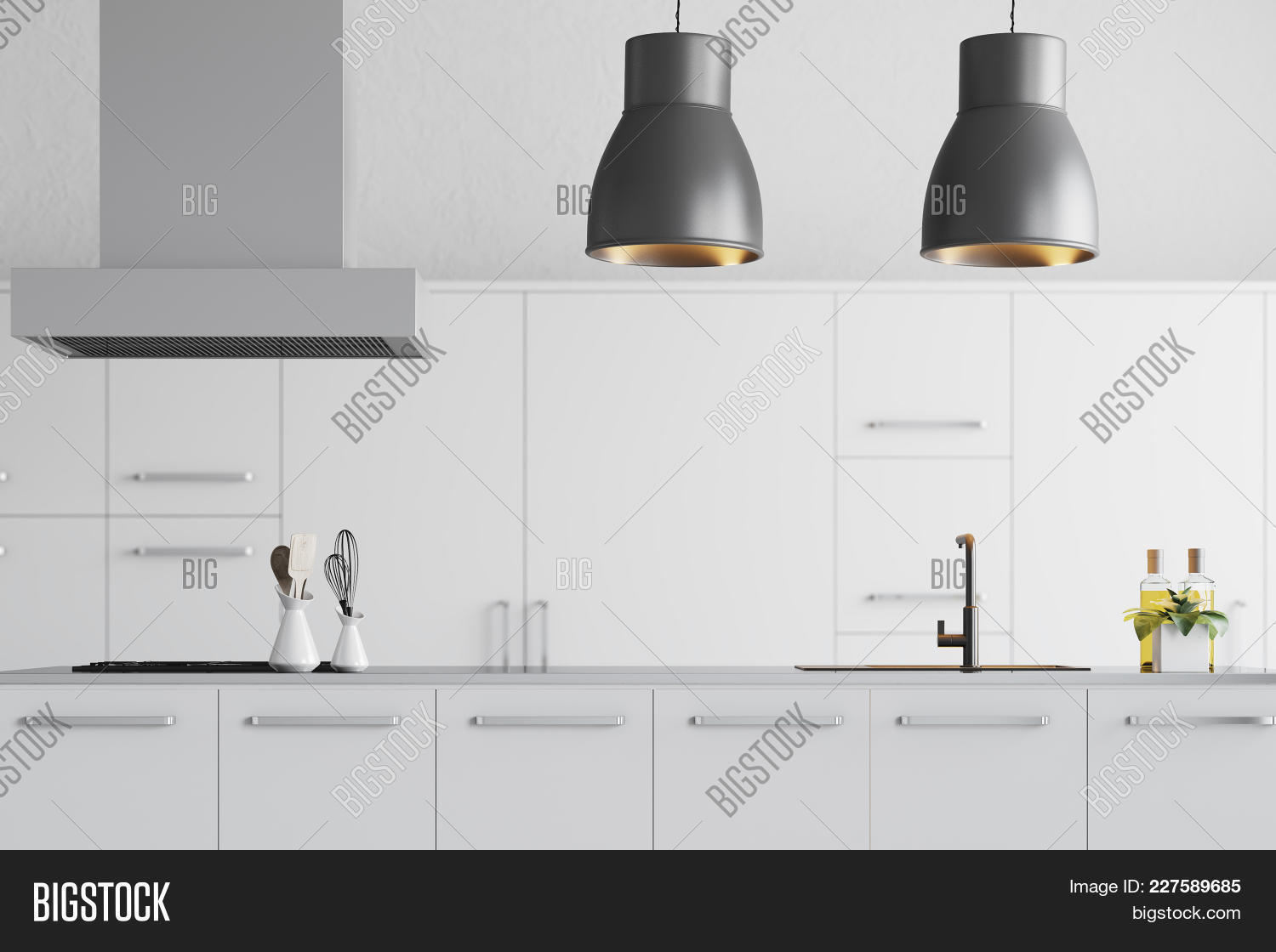 Architecture modern white kitchen powerpoint template architecture architecture powerpoint template 60 slides toneelgroepblik