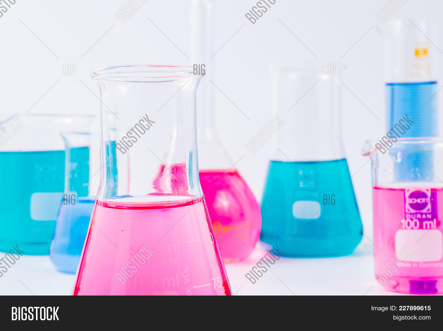 Chemical laboratory beakers powerpoint template chemical your text toneelgroepblik Choice Image
