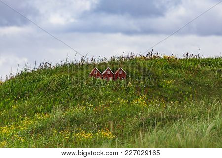 Small Toy Elf House In Iceland Land Of The Elves And Trolls