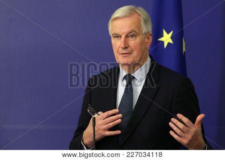 European Commission's Brexit Negotiator Michel Barnier