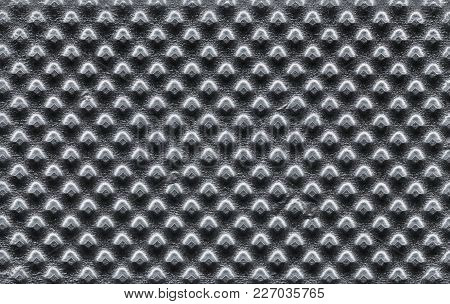 Grey Embossed Steel Metal Texture Useful As A Background