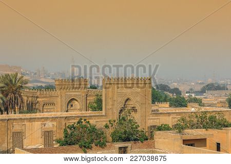 View Of The Old Cairo From The Necropolis