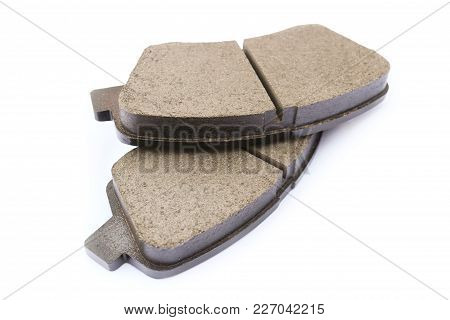 Brake Pads For The Front Suspension Of The Car